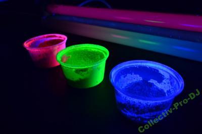 farba UV w proszku