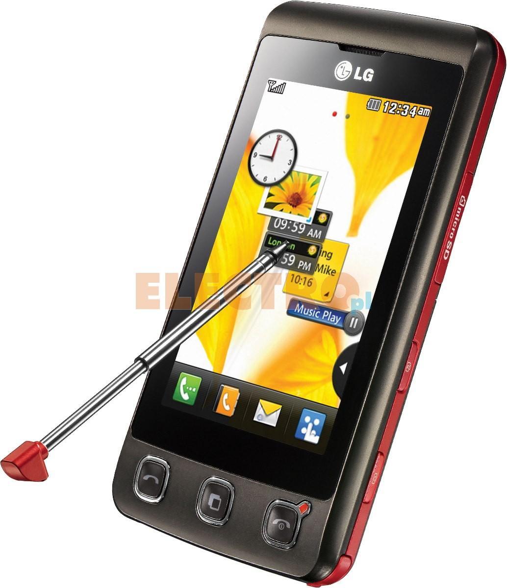 telefon komórkowy lg kp500