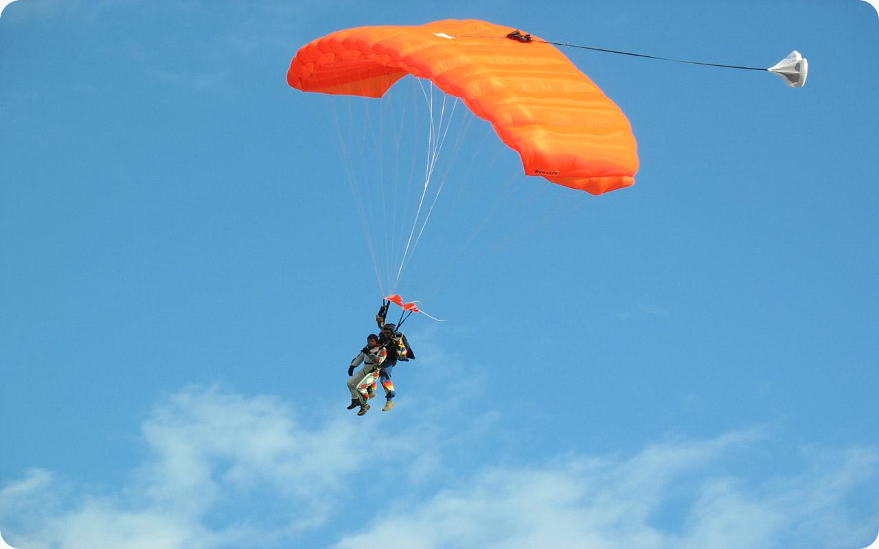 skok spadochronem