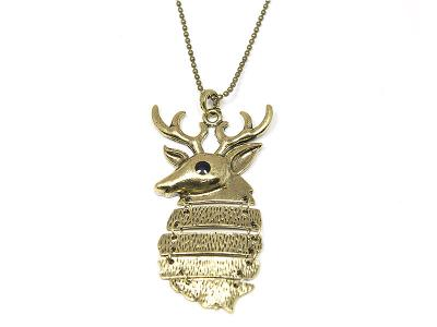 Wisiorek jeleń