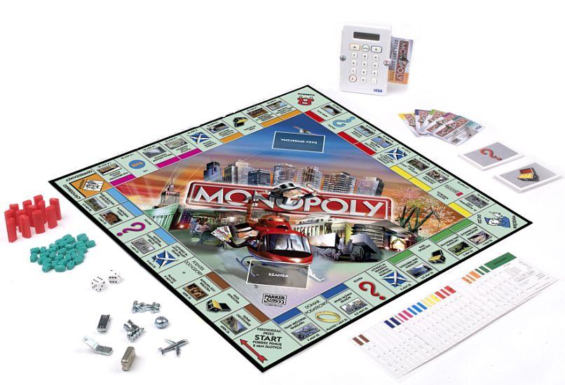 Monopoly Tu i Teraz Banking - gra planszowa - Merlin.pl