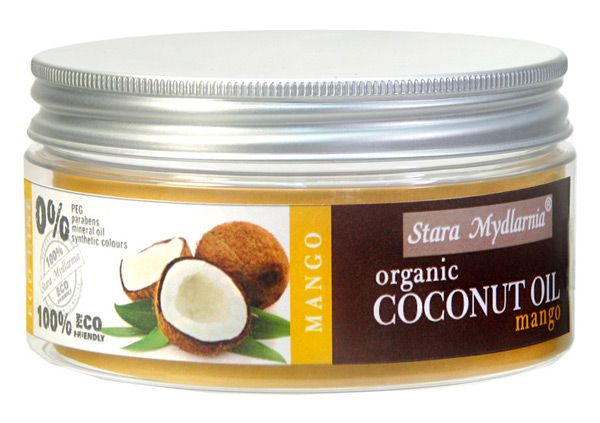 Organic coconut oil - Mango 300 ml