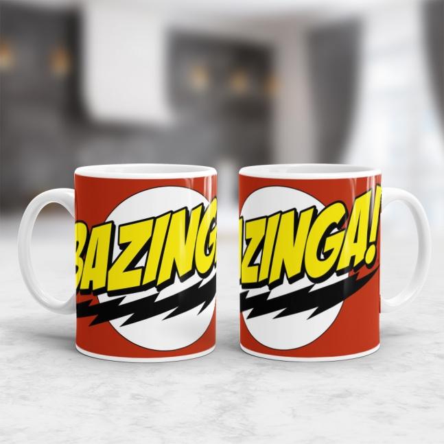 KUBEK BIG BANG THEORY BAZINGA