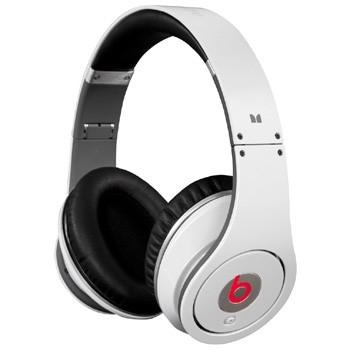 Białe słuchawki Monster Beats by Dr.Dre White