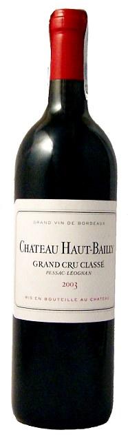 Chateau Haut-Bailly Grand Cru Classe Pessac-Leognan AOC 2003