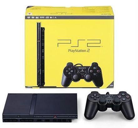 Sony Playstation 2 M (slim) czarna