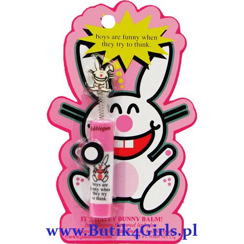 Balsam do ust z wizerunkiem króliczka It's Happy Bunny™, którego kultową postać stworzył Jim Benton™ ©