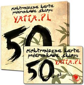 Karta podarunkowa - Yatta
