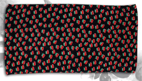 Ręcznik CHERRY BLACK