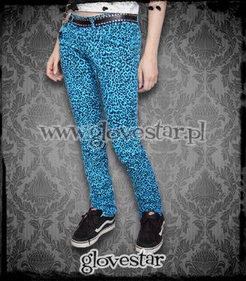 panterkowe spodnie