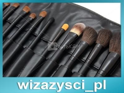 Profesjonalne pędzle do makijażu 20 szt. Lancrone