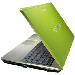 Laptop Sony Vaio zielony