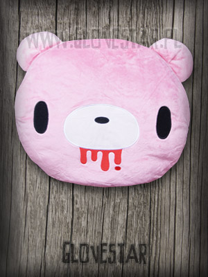 MEGA poduszka GLOOMY BEAR pink.