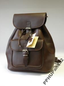 Plecak vintage skóra naturalna JUCHT 0085 miesciA4