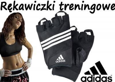 RĘKAWICE rękawiczki TRENINGOWE kulturystyczne S/M