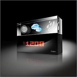 zegar - stacja pogodowa Oregon Scienitfic BA 900 Crystal