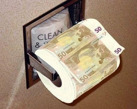 papier toaletowy 50 euro