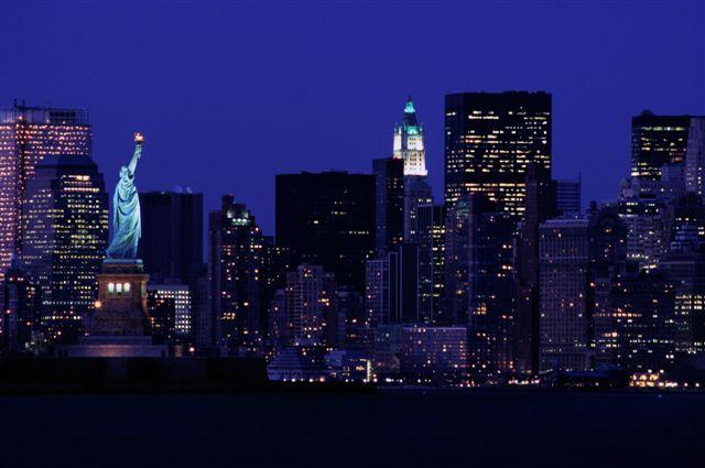 Wielka fototapeta Nowego Jorku