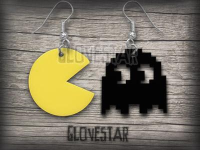 Kolczyki Glovestar PACMAN  .^