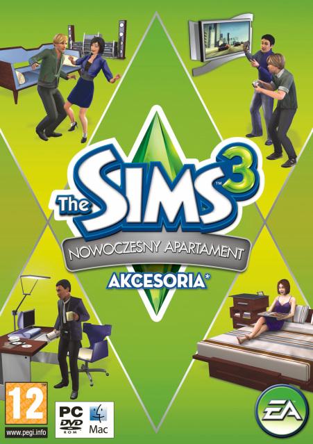 The sims 3 nowoczesny apartament (akcesoria)