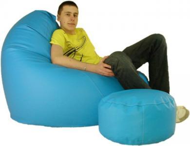 Pufa fotel Sako XXXL- GIGA WYMIARY - Pufy Fotele