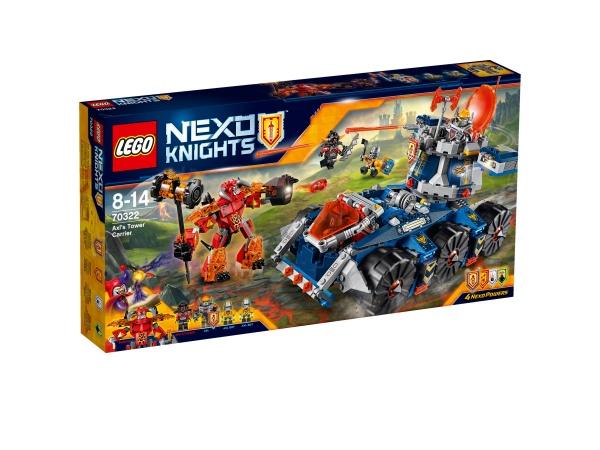 Klocki LEGO Nexo Knights pojazd Axla