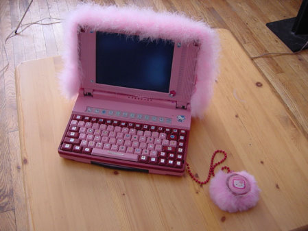 Laptop z Helool Kitty