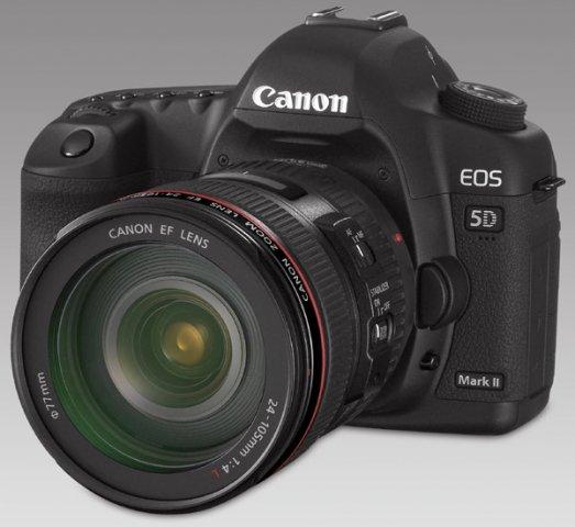 Lustrzanka Cyfrowa Canon EOS 5D Mark II