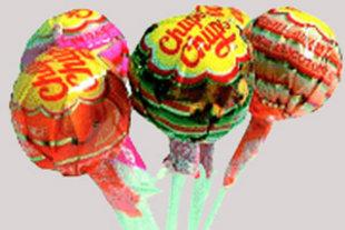 3 Lizaki chupa chupsy xD truskawkowe