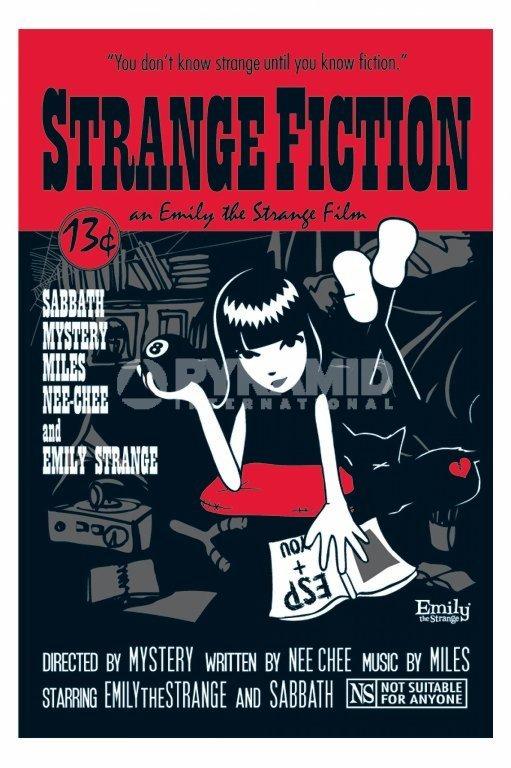plakat EMILY THE STRANGE - STRANGE FICTION