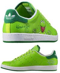 śliczne buty Adidas Kermit The Frog Adicolor