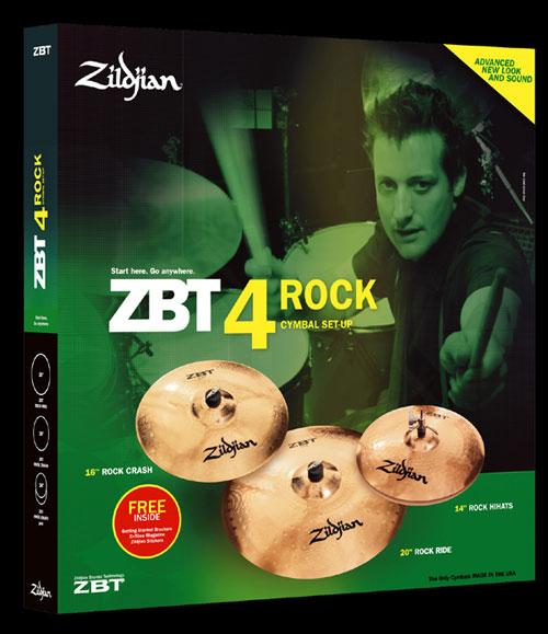 Talerze Perkusyjne Zildjian ZBT Rock Set 14+16+20+bag