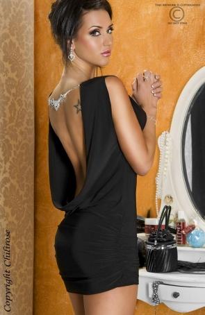 Chilirose - CR-3214 Sukienka z biżuterią