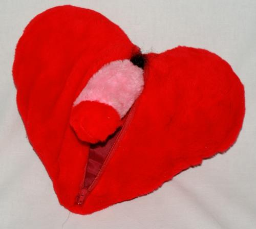 Poducha serce męskie