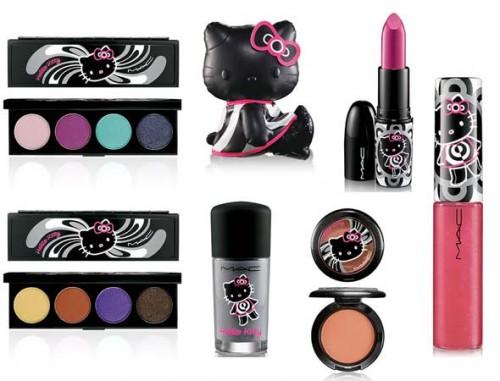 Kosmetyki z Hello Kitty ; >