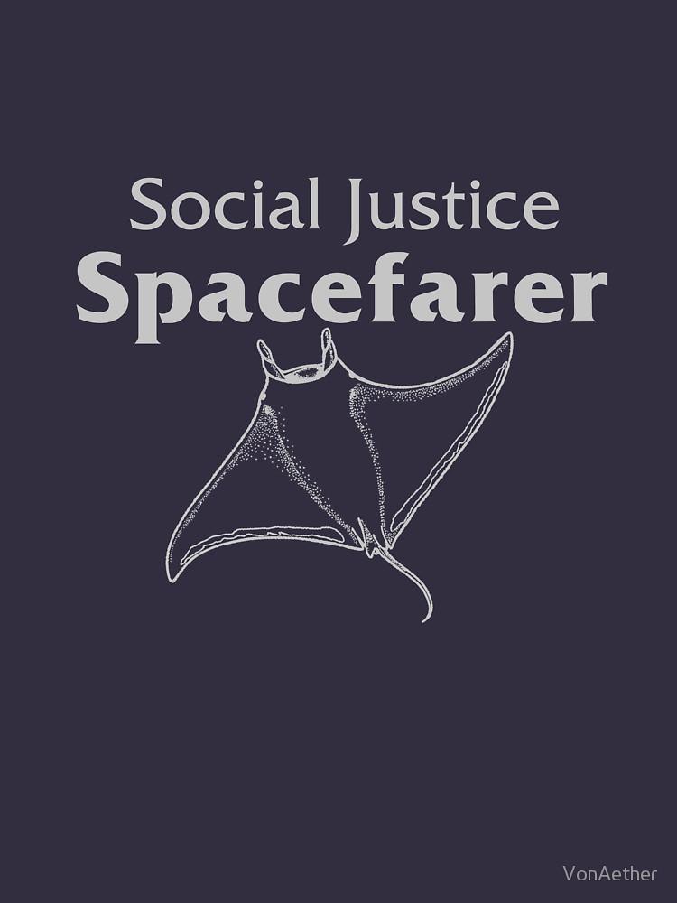 Koszulka Social Justice Spacefarer