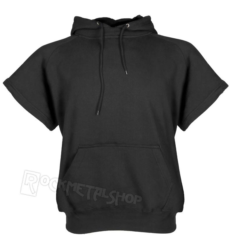 bluza KANGURKA BLACK, odpinane rękawy i kaptur