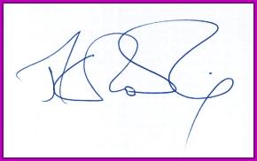 Autograf Harrego Pottera :)