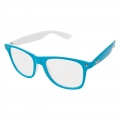 Masterdis KMA Shades Two Tone Clear Sunglasses turquoise/white