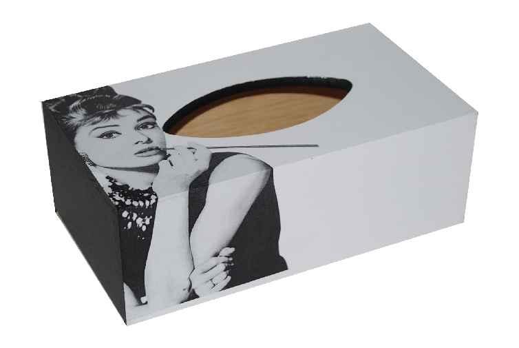 Chustecznik pudełko na chusteczki Audrey Hepburn