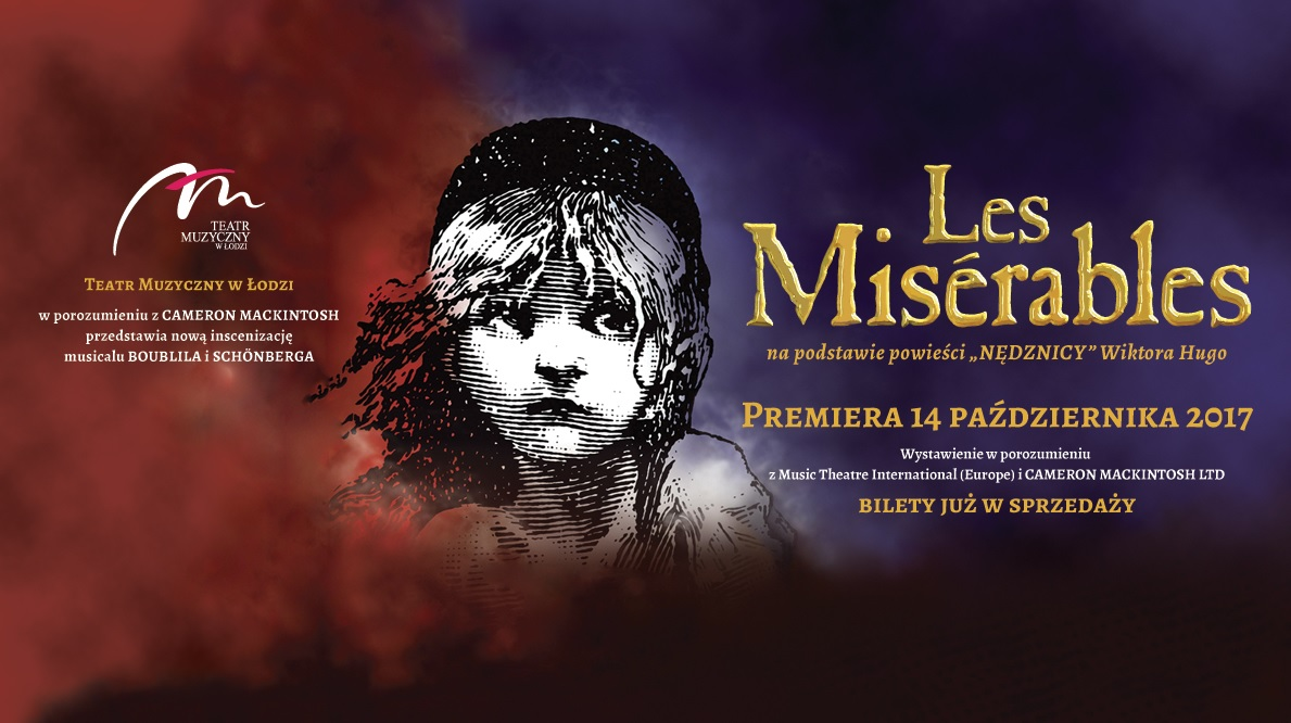 Bilety na les Miserables w Łodzi