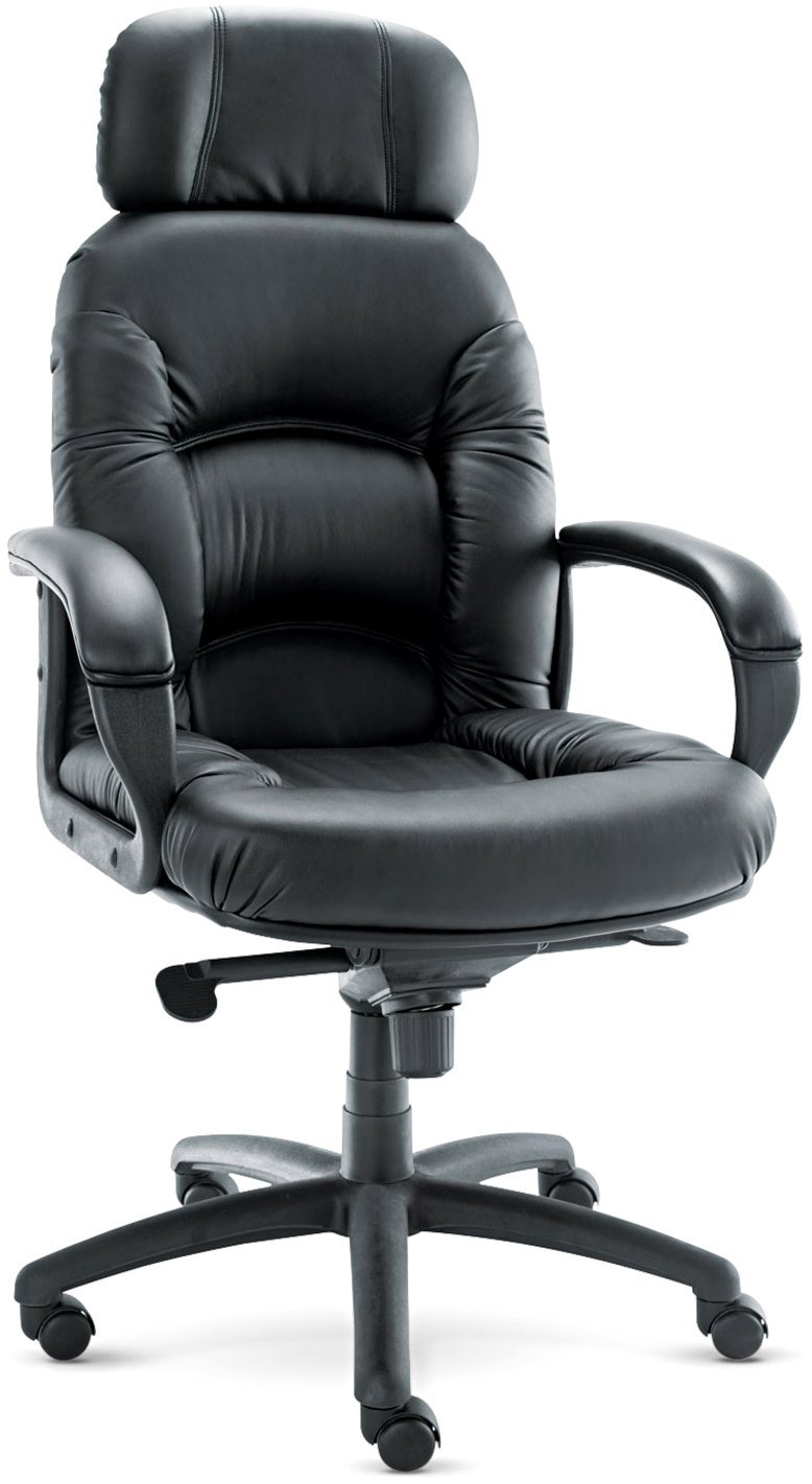 Alera Nico High-Back Swivel/Tilt Chair, Black