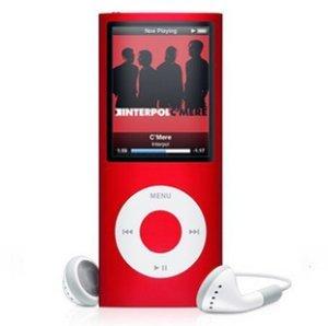 iPod Nano czerwony 4G 16GB