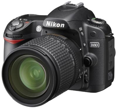Lustrzanka Nikon d80