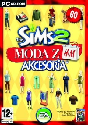 The Sims 2 Moda z H&M akcesoria