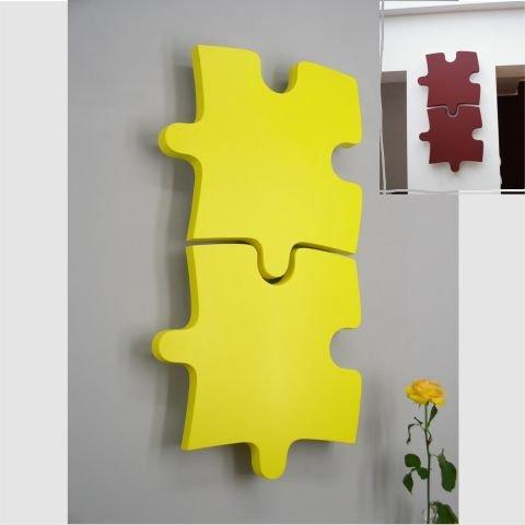Lampa w kształcie puzzli