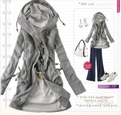 Długa bluza Japan Style