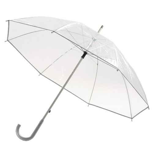 przezroczysty parasol