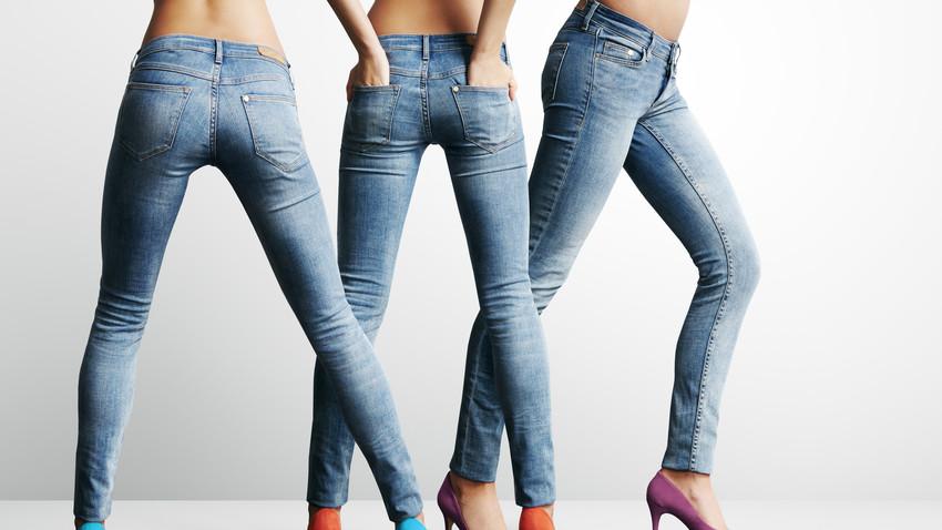 jeansy dla kobiety