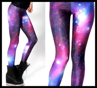 Legginsy getry Galaxy KOSMOS CUDO  BLOG